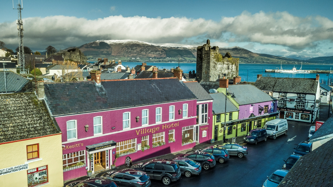 McKevitts Hotel Overlooking Carlingford Lough